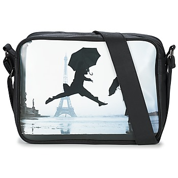 Bags Messenger bags Kothai EIFFEL UMBRELLA Black / Grey
