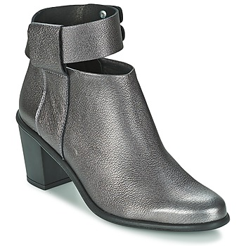 Shoes Women Low boots Miista ODELE Pewter / Lever