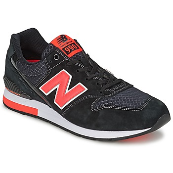 Shoes Low top trainers New Balance MRL996 Black / Red