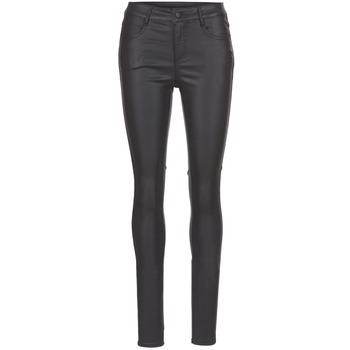 material Women 5-pocket trousers Vila VICOMMIT Black