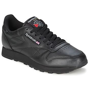 Shoes Low top trainers Reebok Classic CL LTHR Black