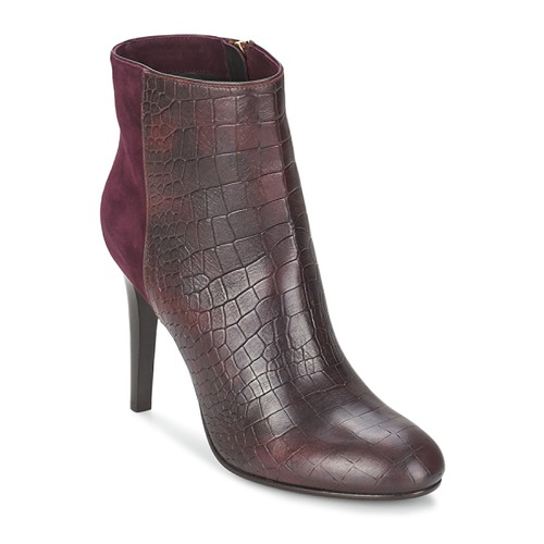 Shoes Women Ankle boots Alberto Gozzi GRINGO MANDORLA Bordeaux