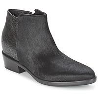 Shoes Women Mid boots Alberto Gozzi PONY NERO Black