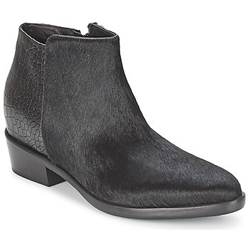 Shoes Women Mid boots Alberto Gozzi PONY NERO Black