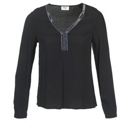 material Women Blouses Betty London FALINDI Black
