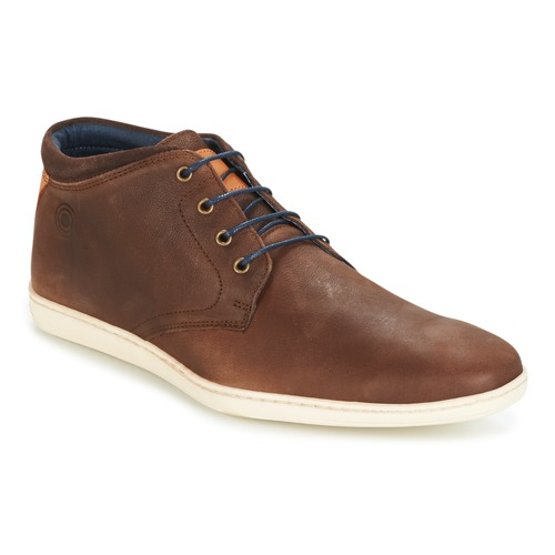 Shoes Men Mid boots Casual Attitude CALER Brown