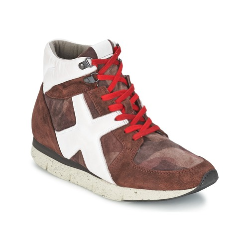 Shoes Women High top trainers OXS JAZZ Bordeaux