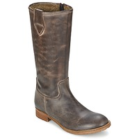 Shoes Women Boots Hip GUELINE Brown