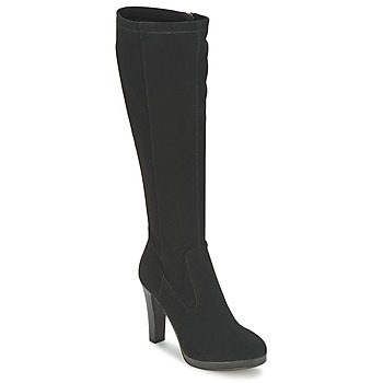 Shoes Women Boots Moony Mood FLORA Black