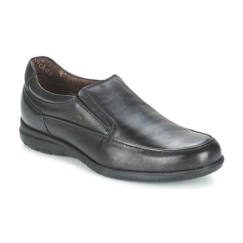 Shoes Men Loafers Fluchos LUCA Black