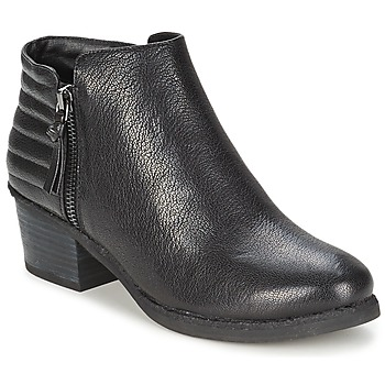 Shoes Women Ankle boots French Connection TRUDY Black