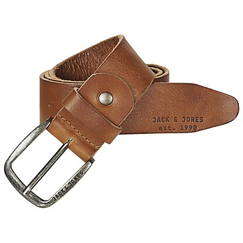 Clothes accessories Men Belts Jack & Jones PAUL Cognac