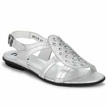Shoes Women Sandals Fidji BARRETA Silver