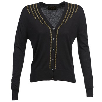material Women Jackets / Cardigans Chipie BERENICE Black