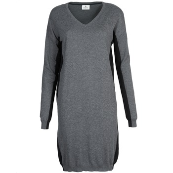 material Women Short Dresses Chipie MONNA Grey / Black