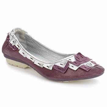 Shoes Women Ballerinas Pataugas TURNER Violet