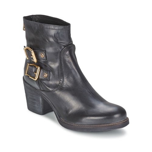 Shoes Women Ankle boots Meline LODU Black