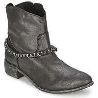 Shoes Women Mid boots Meline VUTIO Black / Metallic