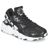 Shoes Women Low top trainers Nike AIR HUARACHE RUN SE W Black / White