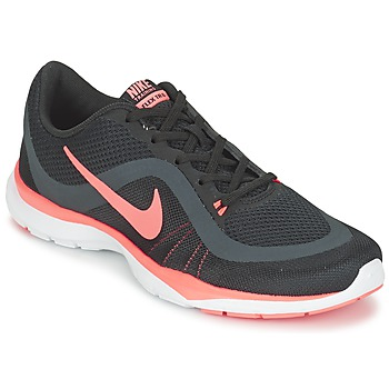 Shoes Women Fitness / Training Nike FLEX TRAINER 6 W Black / Pink