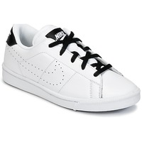 Shoes Boy Low top trainers Nike TENNIS CLASSIC PREMIUM PRESCHOOL White / Black