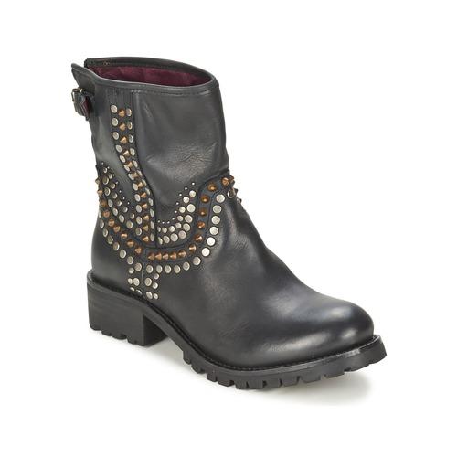 Shoes Women Mid boots Ikks SEATTLE-PREMIUM Black
