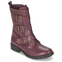 Shoes Women Mid boots Ikks RANGER-COLLECTOR-BOUCLE Bordeaux