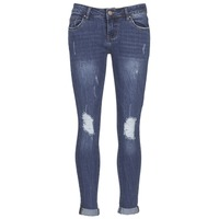 material Women slim jeans Yurban IFOUNOLE Blue / Medium