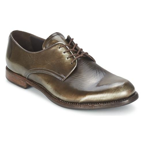Shoes Women Derby shoes n.d.c. FULL MOON MIRAGGIO Black / Moire