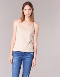 material Women Tops / Sleeveless T-shirts BOTD FAGALOTTE Nude