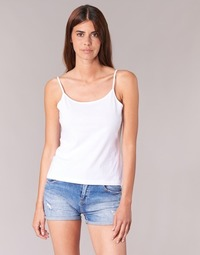 material Women Tops / Sleeveless T-shirts BOTD FAGALOTTE White