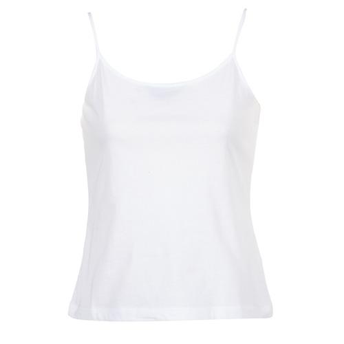 material Women Tops / Sleeveless T-shirts BOTD FAGALOTTE White