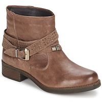Shoes Women Mid boots Keys CLOSE Brown
