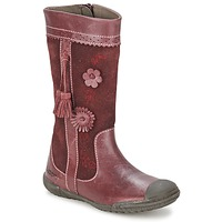 Shoes Girl Boots Mod'8 KLAN Bordeaux