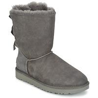 Shoes Women Mid boots UGG BAILEY BOW II Grey