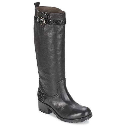 Shoes Women Boots Now PRINCE Black