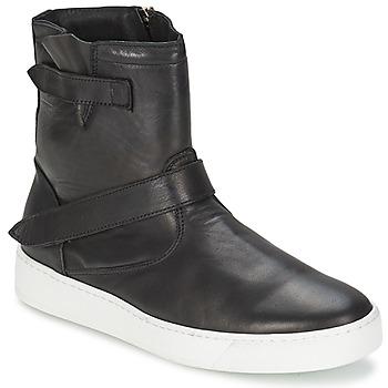 Shoes Men Mid boots Ylati CAPPELLA Black