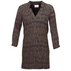 material Women Short Dresses Stella Forest BRO024 Kaki