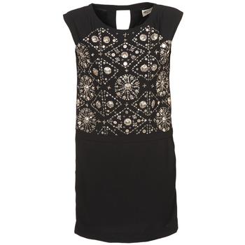 material Women Short Dresses Stella Forest BRO040 Black
