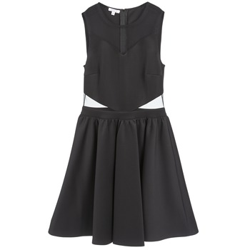 material Women Short Dresses Brigitte Bardot BB45080 Black