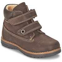 Shoes Boy Mid boots Primigi ASPY 1 Brown