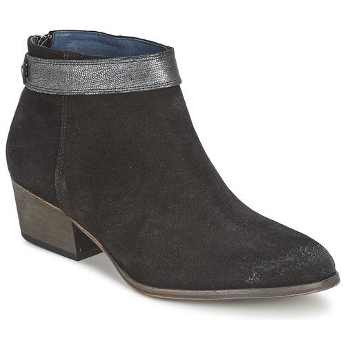 Shoes Women Ankle boots Schmoove SECRET APACHE Black