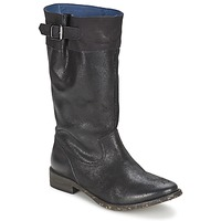 Shoes Women Boots Schmoove SANDINISTA BOOTS Black / Metal