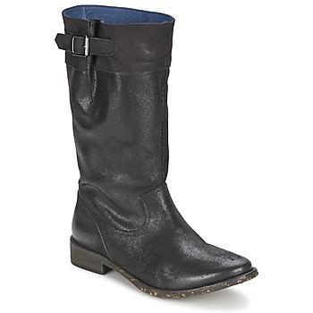 Shoes Women Boots Schmoove SANDINISTA BOOTS Black / Metal