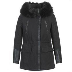 material Women Parkas Betty London FOUINI Black