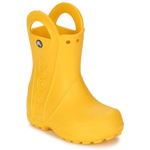Crocs HANDLE IT RAIN BOOT KIDS Yellow