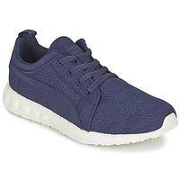 Shoes Men Low top trainers Puma CARSON RUNNER CAMO MESH EEA Blue