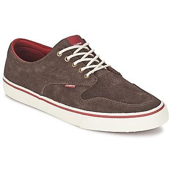 Shoes Men Low top trainers Element TOPAZ C3 Walnut