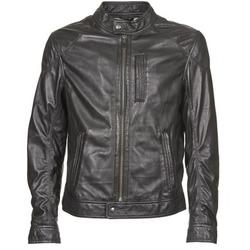 material Men Leather jackets / Imitation le Oakwood 60835-501  black