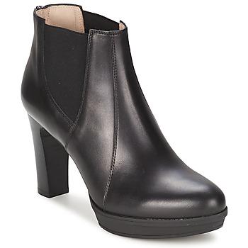 Shoes Women Ankle boots Unisa MIJAL Black